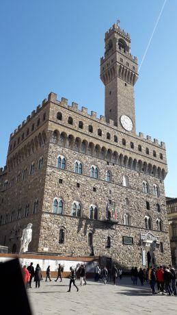 Theopa a Palazzo Vecchio Firenze