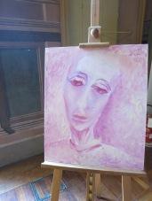 figura rosa focone