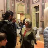 Focone vernissage a Villa AMoretti