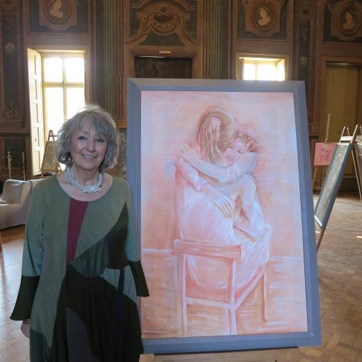 Maralba Focone in Villa Amoretti