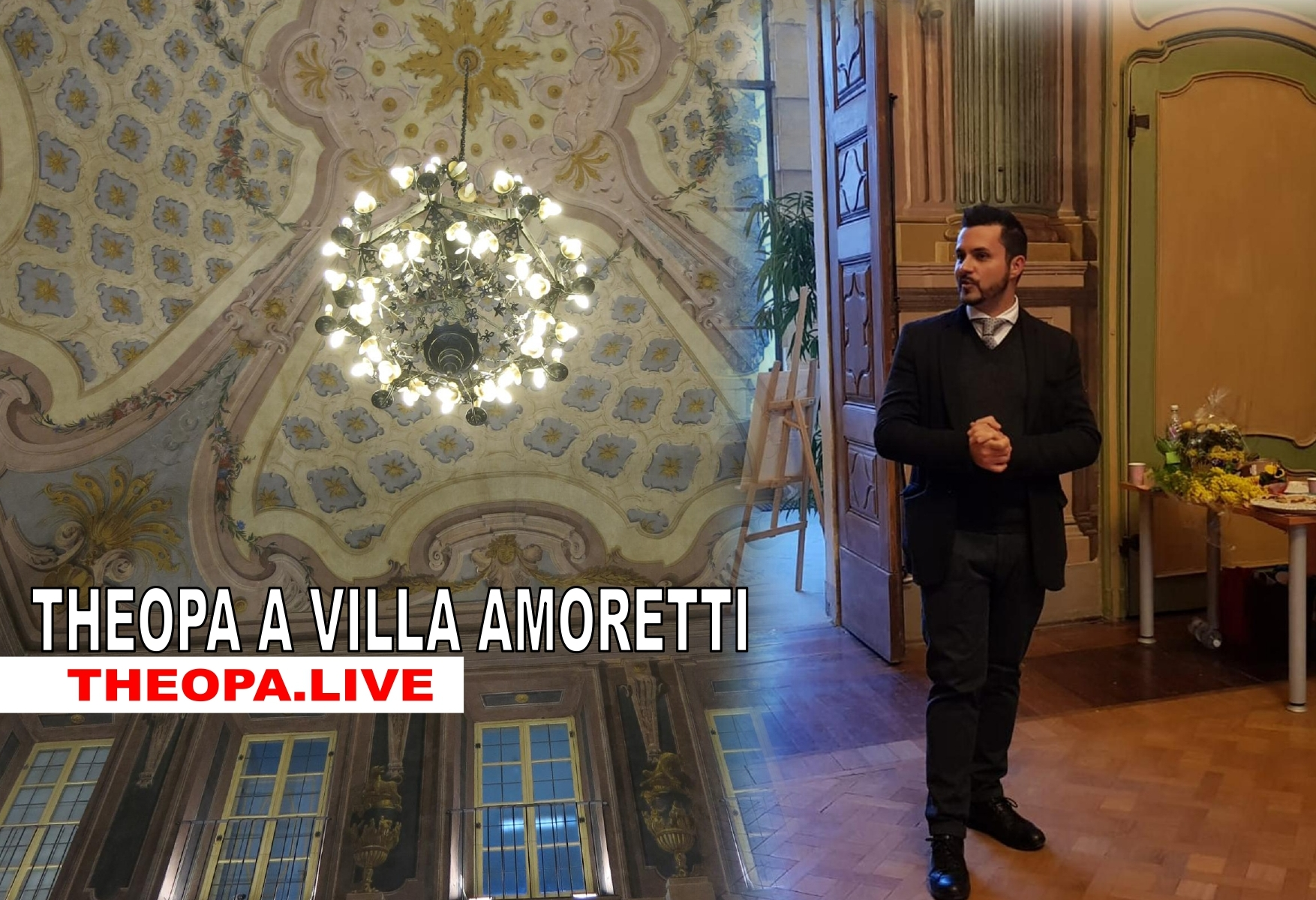 Theopa Di Matteo a Villa Amoretti