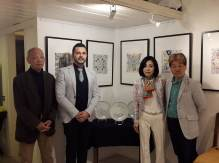 P. DI MATTEO con CHIE YOSHIOKA, SYUSUI SHIMAZAKI e ISSEI HIDAKA