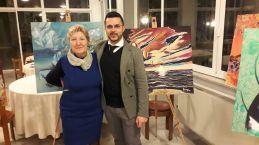 Pasquale Di Matteo (THEOPA) con la Poetessa Anna Bartiromo
