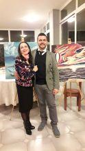 Pasquale Di Matteo (THEOPA) con la Dott.ssa Letizia caiazzo