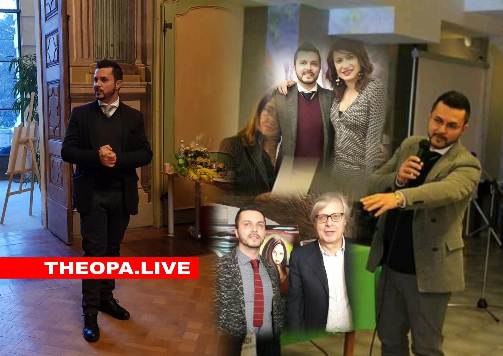 PASQUALE DI MATTEO THEOPA CRITICO D'ARTE