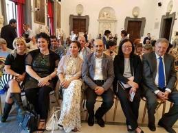 Delegazione indonesiana, con la Dott.ssa Veronica Vonny