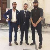 Pasquale Di Matteo con delegazione libica