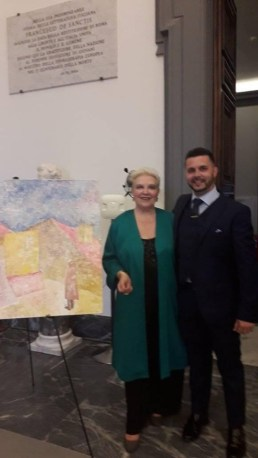 Pasquale Di Matteo con Anna Maria Brazzò
