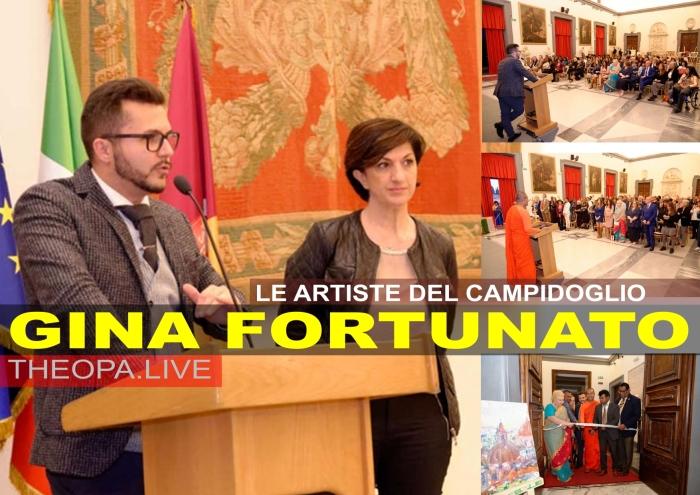 Gina Fortunato in Campidoglio