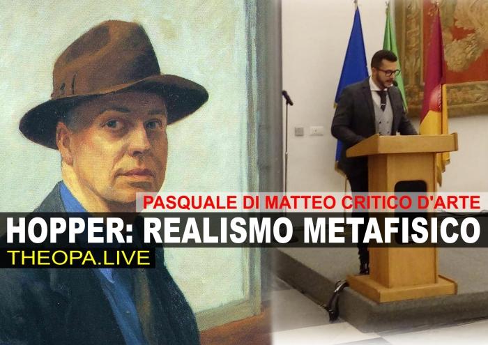 PASQUALE DI MATTEO SU EDWARD HOPPER