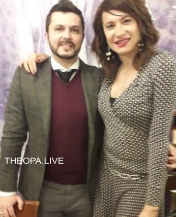 Il Critico d'Arte, Pasquale Di Matteo con Vladimir Luxuria