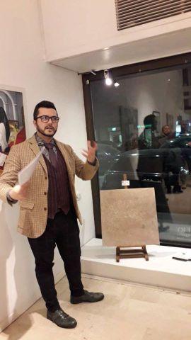 Il Critico d'Arte Pasquale Di Matteo con Francesco Buscaini