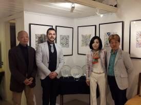 Pasquale DI Matteo con artisti giapponesi