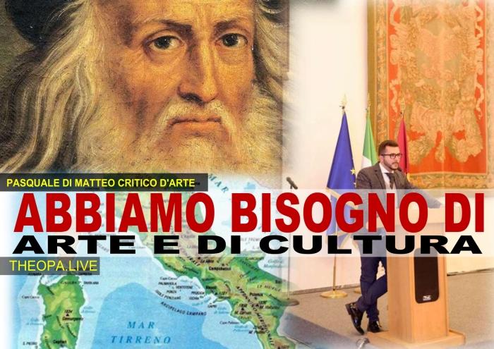 Pasquale Di Matteo su arte e cultura in Italia