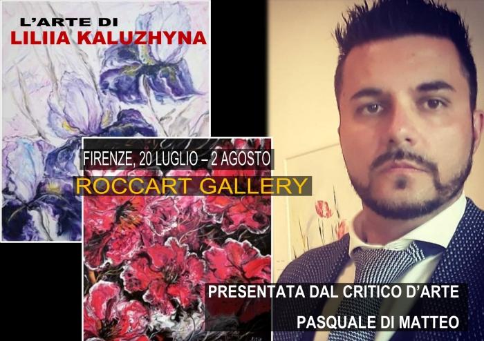 Liliia Kaluzhyna presentata da Pasquale Di Matteo